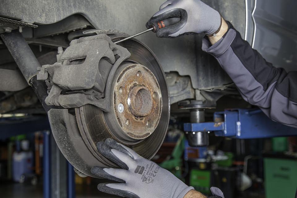 Grinding Car Brakes