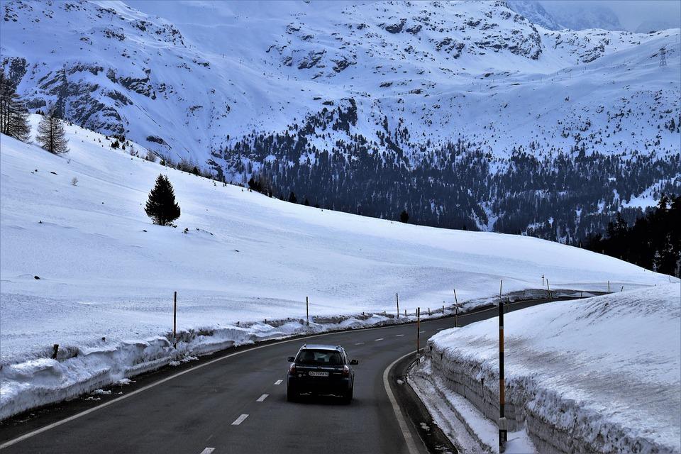 Frozen Brakes On Car In Winter